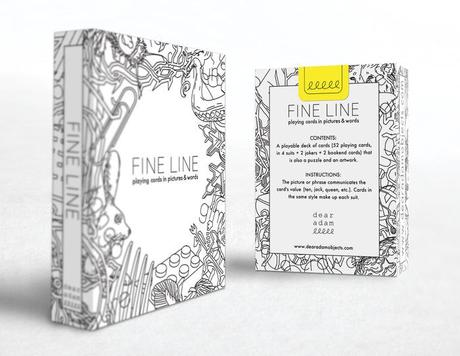 Fine Line Playing Cards