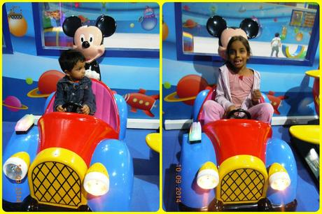 Riding the Mickey Car