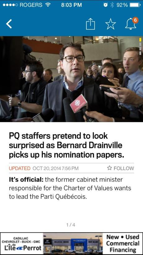 Montreal Gazette: new look, new strategy across four platforms