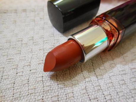 Maybelline Color Show Lipstick Caramel Custard (309) : Review, Swatch, FOTD