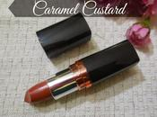 Maybelline Color Show Lipstick Caramel Custard (309) Review, Swatch, FOTD