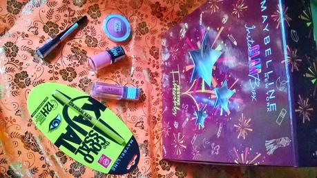 Celebrate this Diwali with Maybelline Instaglam Festive Firecrackers Box & FOTD