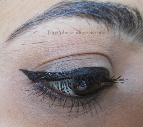 Oriflame The One Eye Liner Stylo Black & Blue : Review, Swatch, EOTD