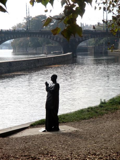 A Walk by the River: Prague