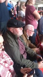 Two Petes, Sixer and Horan, not feeling very saintly at St Mary's