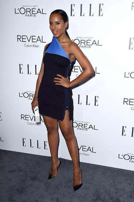 Kerry Washington Attends  ELLE's 21st Annual Women in Hollywood Celebration