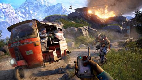 Some explosive new Far Cry 4 co-op gameplay gets released
