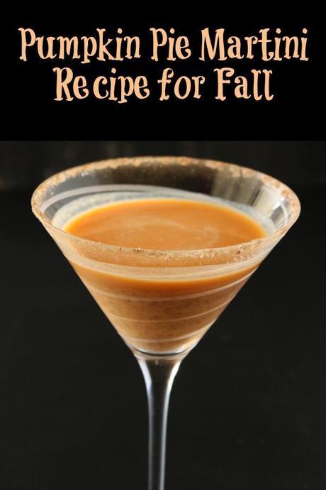 Pumpkin Pie Martini Recipe for Fall