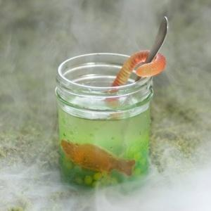 Swamp juice Halloween Food drink recipes