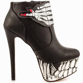 Shoe of the Day   Iron Fist Bone Breaker Platform Bootie