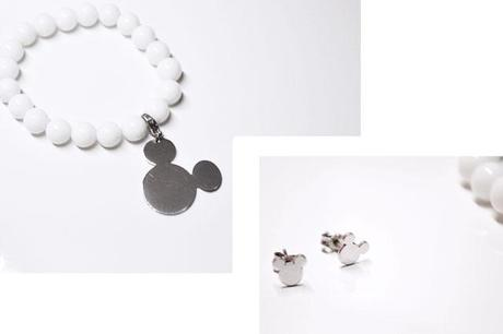 Twice as nice jewelry belgium belgian belgie disney collectie collection, astrid bryan mickey mouse, silver hardware juwelen armband bracelet cute, disney jewelry earrings necklace minimal modern design art fashion blogger turn it inside out shopping new in review inspiration fall winter trends 2014