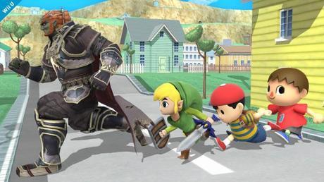 Super Smash Bros. Wii U screen
