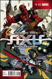 Avengers & X-Men: Axis #5 Cover - Johnson Inversion Variant