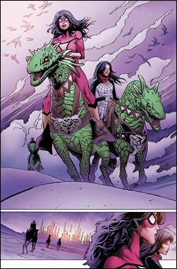 Spider-Woman #1 Preview 1