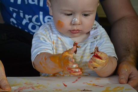 Halloween 2014 : Baby friendly Halloween crafts