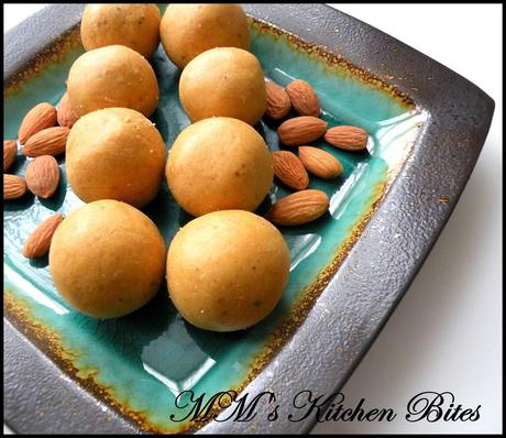 Microwave Besan Laddoos...Happy Diwali and second chances!