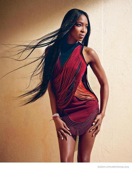 Fashion Flashback: Naomi Campbell For Harper's Bazaar Latin American September 2014