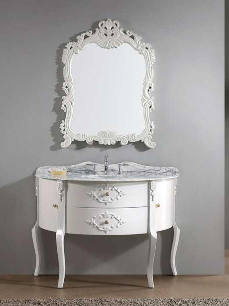 Abigail White Bathroom Vanity