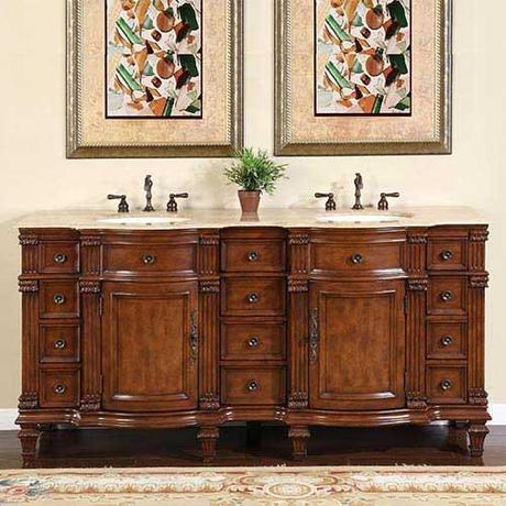 Ficarra Antique Bathroom Vanity