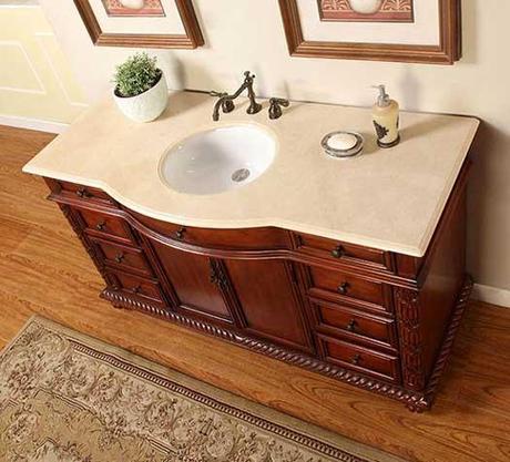 Octavius Curved Front Bath Vanity