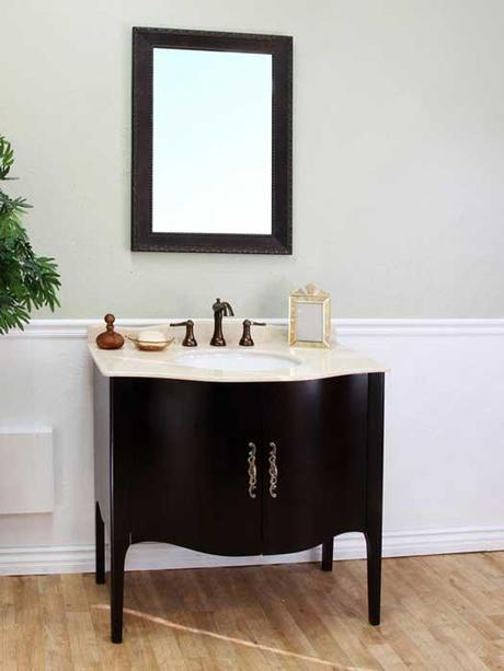 Thetford Curved Bathroom Vanity