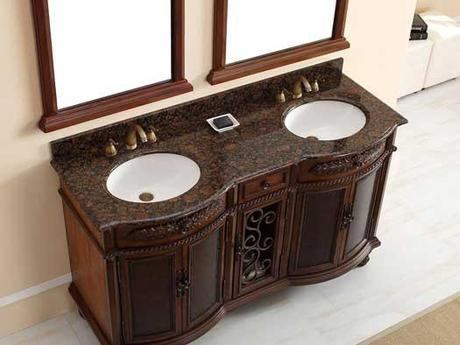 Langreo Double Bowfront Vanity