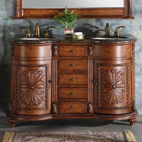 Zikas Antique Bathroom Vanity