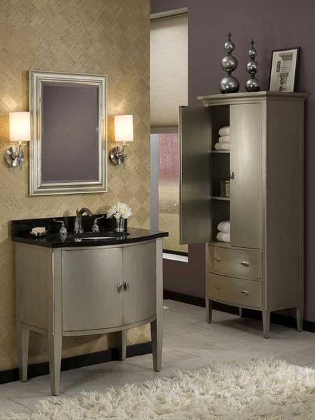 Sterling Bowfront Single Bath Vanity