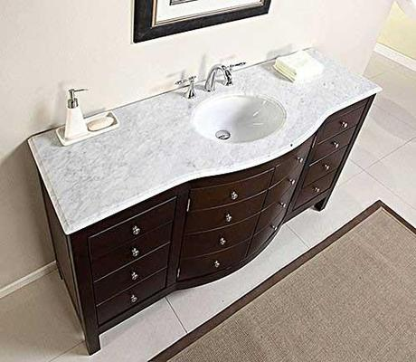 Karalis Vanity Base with Curved Front