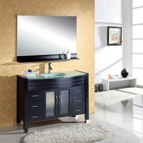 Avaline Espresso Modern Bath Vanity