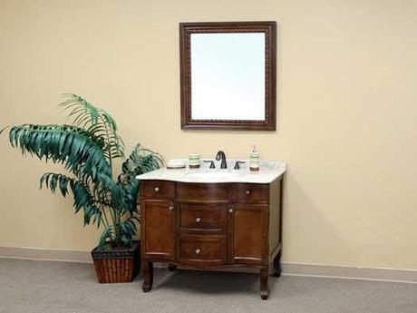 Charentes Single Bath Cabinet