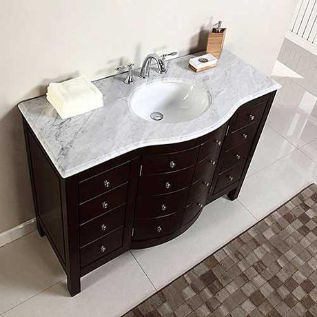 Beautiful Espresso Bathroom Vanity