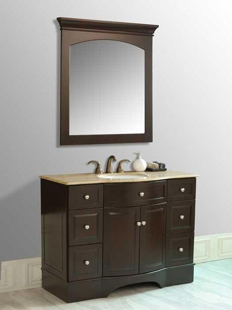 Truman Vanity with Curved Front