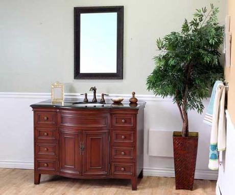 Monte Bowfront Bath Cabinet