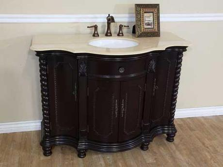 Whinefell Antique Vanity with Mahogany Finish