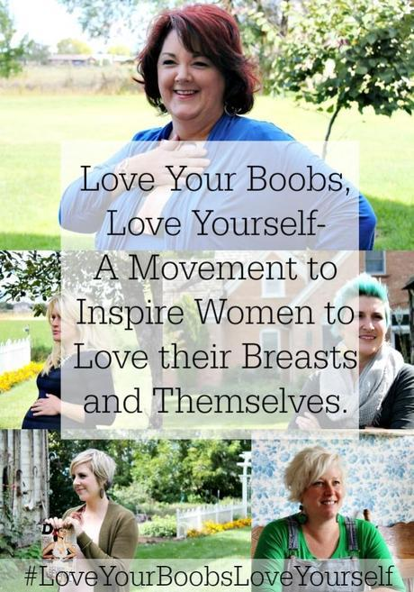 Love Your Boobs, Love Your Breasts Movement Fry Sauce and Grits