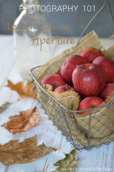 Learning about aperture