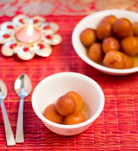 Gulab Jamuns - Traditional Indian Sweet