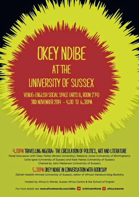 In Conversation with Okey Ndibe: 3rd November at the University of Sussex