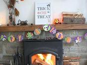Halloween/Autumn Inspired Mantelpiece