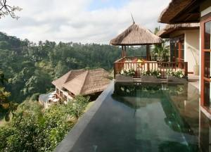 Infinity Pools, Top 10 Ubud Resorts, Spas. Bali Hotels