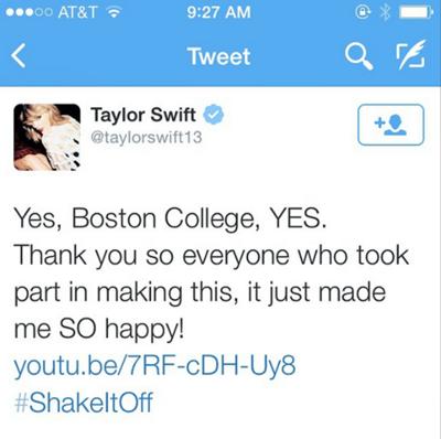 TaylorSwiftYesToBC
