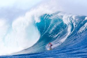 Chuck Patterson getting creative at Jaws