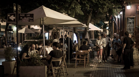 A Calm Evening in Barrio Lastarria