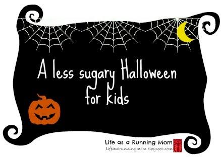 A less sugary Halloween for kids