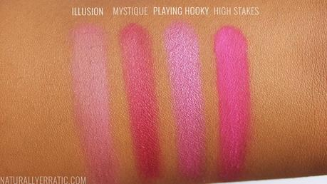 Pink blush for darker skin