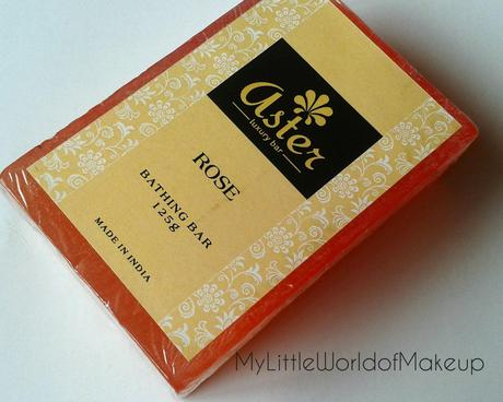 Aster Handmade Soaps - First impression