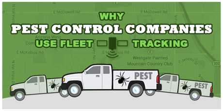 Why Pest Control Companies use Fleet Tracking