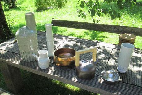 Matthias Kaiser ceramic bowls and vases
