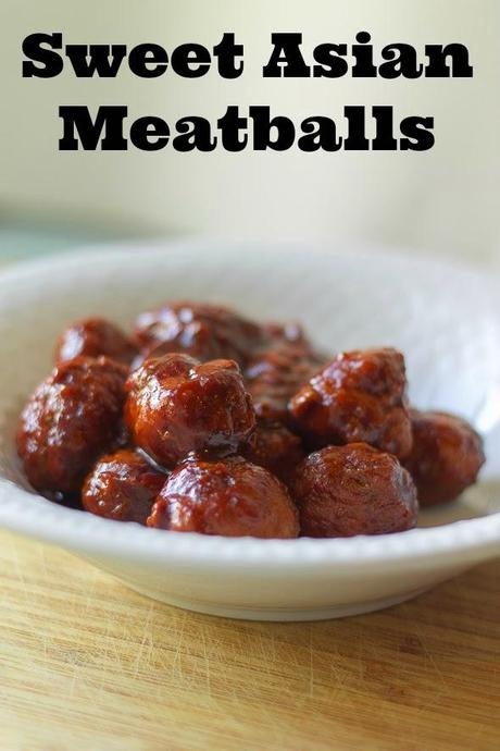 Sweet Asian Meatballs